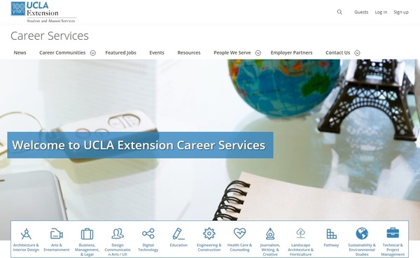 New Career Services Website for Students and Alumni Goes